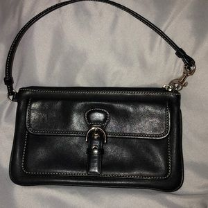 Coach Soho Black Wristlet